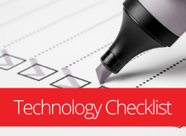Technology Wellness Checklist
